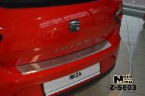 Nataniko Накладка на бампер с загибом SEAT IBIZA IV 3D FL