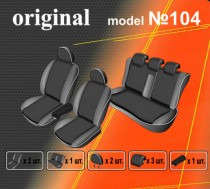 EMC-Elegant Авточехлы на сиденья Audi A6 (C5) об ДВС 2,4 1997-2004