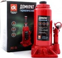 ДК Домкрат бутылочный, 6т, красный H=200/385