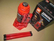 ДК Домкрат бутылочный, 10т, красный H=200/385