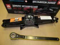 ДК Домкрат механический 1т. 100/350мм. трещетка