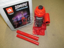 ДК Домкрат бутылочный, 3т пластик, красный H=180/340