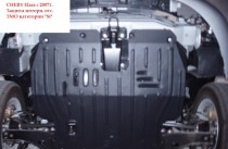 "Авто-Полигон CHERY Elara c 2007г. Защита моторн. отс. ЗМО категории ""St"""