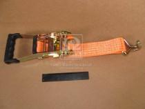 ДК Стяжка груза 5t (трещотка прорезин. ручка, лента 50mm.x0.5m., крюк)