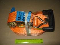 ДК Стяжка груза, 5t. 50mm.x10m.(0.5+9.5) прорезин. ручка