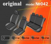EMC-Elegant Авточехлы на сиденья Dacia Logan MCV универс, 5 мест, деленная