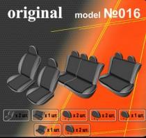 EMC-Elegant Авточехлы на сиденья Dacia Logan MCV универс, 7 мест