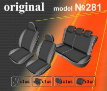 EMC-Elegant Авточехлы на сиденья Fiat Doblo New c 2009г