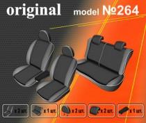 EMC-Elegant Авточехлы на сиденья Hyundai Accent New (деленный) с 2011г