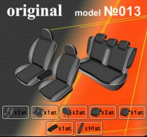 EMC-Elegant Авточехлы на сиденья Mitsubishi Lancer X Sedan (об. 2.0)