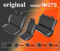 EMC-Elegant Авточехлы на сиденья Opel Vivaro с 2002–06г