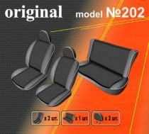 EMC-Elegant Авточехлы на сиденья Peugeot 206 hatchback
