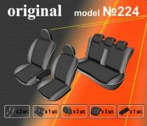 EMC-Elegant Авточехлы на сиденья Renault Fluence цельная с 2009г
