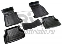 AvtoDriver Коврики в салон для BMW 5 серии , высокий борт (из 4-х) Серия Avangard