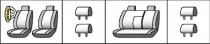 Favorite Авточехлы на сиденья CHEVROLET Lacetti 2004 (универсал)