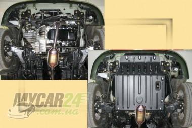"""Авто-Полигон GEELY CK 1,3л;1,5 с 2007г. Защита моторн. отс. ЗМО категории """"St"""""""