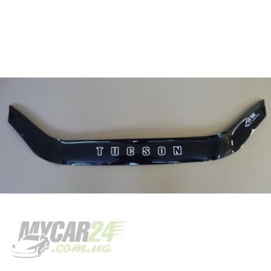 Vip tuning Дефлекторы капота HYUNDAI TUCSON с 2004-2009 г.в (без клыков)