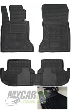 GAvto Резиновые коврики в салон BMW F10 5-серия (2013>)
