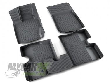 Агатек коврики в салон RENAULT DUSTER 4WD - полиуретан