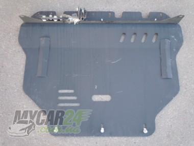 Щит Ford Focus 3 (с балкой) 2011-. Защита ДВС+КПП