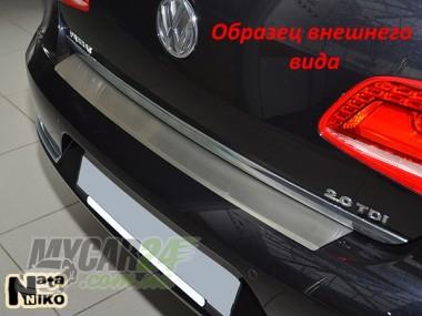 Nataniko Накладка на бампер с загибом BMW X6 (E71_E72)
