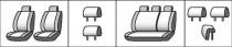 Favorite Авточехлы на сиденья Toyota Corolla (E14/E15) америк. версия 2006-2012