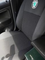 Авточехлы на сиденья Skoda Octavia A5 new EMC-Elegant