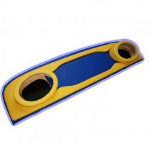 Probass Tuning Акустическая полка Ваз 2101 - 2106 - 2107 стандарт фанера сине - желтая