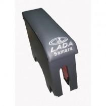 Probass Tuning Подлокотник Ваз 2108 - 2109 - 21099 с вышивкой длинный серый