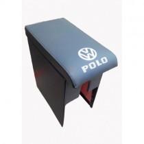 Probass Tuning Подлокотник Volkswagen Polo с 1994 - 2009 с вишивкой серый