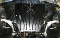 """Авто-Полигон HONDA Pilot 3,5 АКПП с 2011- Защита моторн. отс. категории """"St"""""""