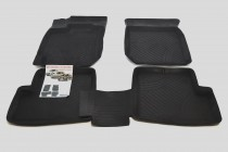 Резиновые глубокие коврики Renault Logan, Sandero, Duster   ЗРТИ