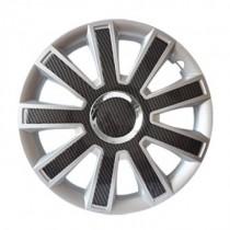 Leoplast Flash Carbon Колпаки для колес R15 (Комплект 4 шт.)