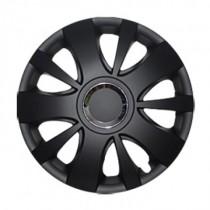 Leoplast Hit black Колпаки для колес R16 (Комплект 4 шт.)