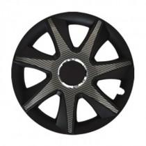 Leoplast Run Carbon black Колпаки для колес R15 (Комплект 4 шт.)