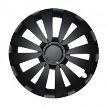 Leoplast Sky black Колпаки для колес R16 (Комплект 4 шт.)