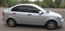 VL,Cobra Tuning Ветровики Hyundai Accent 2006-2010 sedan