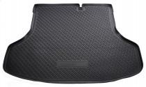 Коврики в багажное отделение для Nissan Sentra (B17) (SD) (2014) полиуретановые Норпласт
