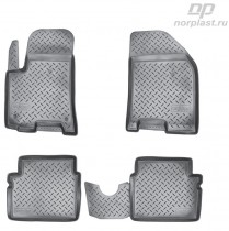 Коврики резиновые Chevrolet Aveo 2004-2011