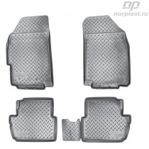 Unidec Коврики резиновые Chevrolet Spark 2011-