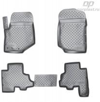 Unidec Коврики резиновые Chevrolet Trail Blazer 2006-2009