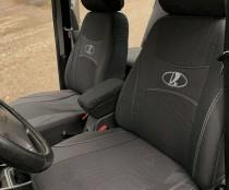 Авточехлы на сиденья LADA LARGUS 7мест раздельный  2012г