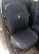 Авточехлы на сиденья Renault Trafic грузопассажир (6 мест) 2001-2014