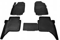 Коврики резиновые Ford Ranger 2011- 4D Double Cab