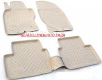 Unidec Коврики резиновые Honda CR-V 2012- БЕЖЕВЫЕ