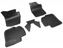 Коврики резиновые Skoda Rapid/Spaceback/Seat Toledo 2012- 3D Unidec