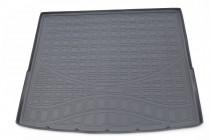 Коврик в багажник Audi Q7 2015- 7 мест (сложенный 3 ряд) СЕРЫЙ