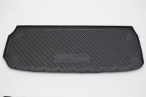 Коврик в багажник Nissan Pathfinder 2014- разложенный 3-й ряд