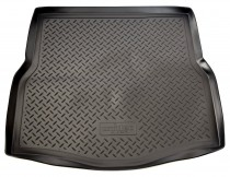 Коврик в багажник Renault Laguna 2007-2010 hatchback резино-пластиковый Unidec