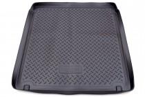 Коврик в багажник Renault Laguna 2007-2010 wagon резино-пластиковый Unidec